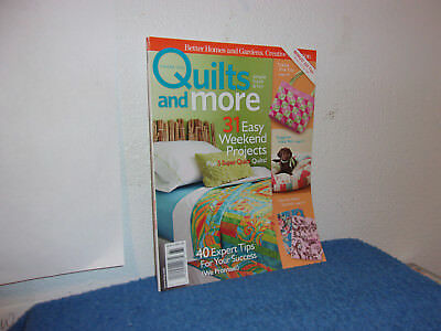 """B H & G  Quilts & More Magazine  """"31 Easy Weekend Projects""""  Summer., 2006"""