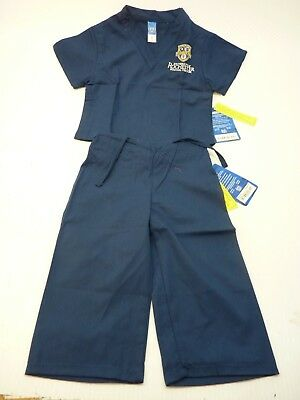 GelScrubs Kids Unisex Medical Scrub Set Shirt & Pants 6709 University Rochester