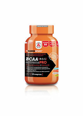 NAMED SPORT® - BCAA 4:1:1 EXTREME PRO  - 121g (110tabs) - SCAD. 28/02/21