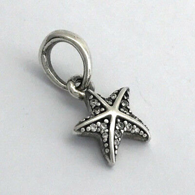 98937d79f Authentic Pandora Tropical Starfish Sterling Silver Pendant Charm 390403CZ,  New