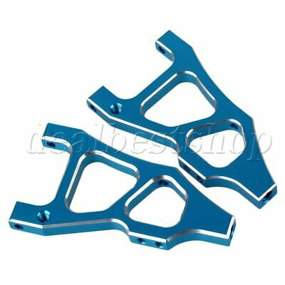 2pcs Blue Alloy Front Lower Suspension Arm 166019 For RC1:10 HSP 94166 New