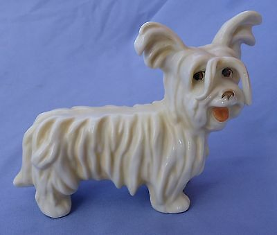 1930 Skye Silky  Papillon Terrier Briard Bosse Dog Goebel Germany 6""