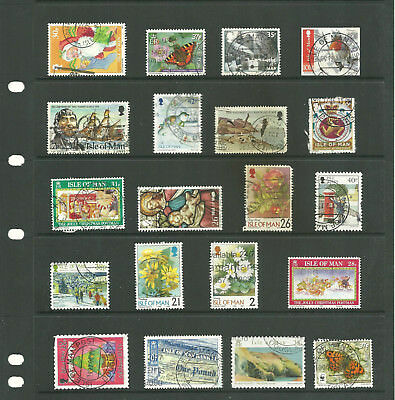 Channel Island 3 stock sheets  collection stamps