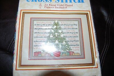 "**Vintage Needleform ""12 Days of Christmas"" Counted Cross Stitch Kit 11 x 14"" **"