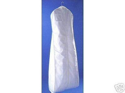 Breathable Garment Bag One Dozen High Quality WHITE Wedding Dresses Bridal Dress