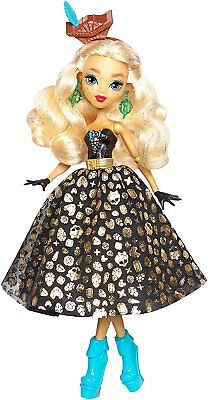 Mattel Monster High DTV93 Gruselschiff Dana Treasure Jones Puppe, Schatzkarte