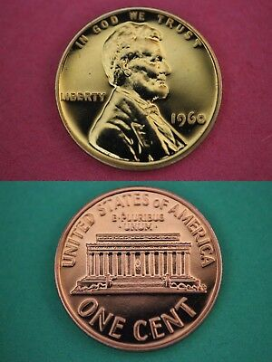 1960 P Proof Lincoln Memorial Cent Penny Large Date Flat Rate Shipping