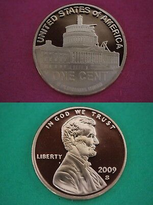 2011 S Proof Lincoln Shield Cent Deep Cameo With DIY Slab Combined Shipping