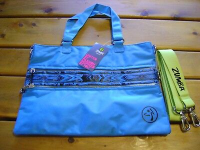 Zumba wear Aztec Cross Body Bag Bangin Blue  New with tags   RARE