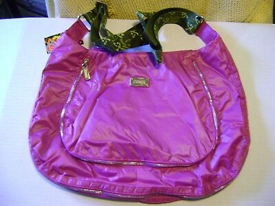 Zumba Peek-a-boo cross body bag purple orchid New with tags   RARE