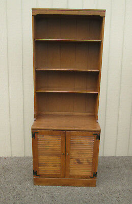 58635  ETHAN ALLEN Cabinet with Bookcase Top 10 4018  20 0677
