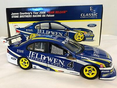 1:18 Classic Carlectables Ford BA Falcon James Courtney Year 2006 Team Release