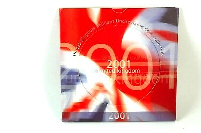 2001 United Kingdom Brilliant Uncirculated Coin Collection