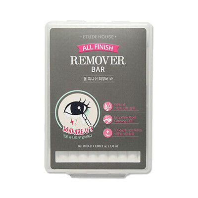 [ETUDE HOUSE] All Finish Remover Bar - 1pack (20pcs)