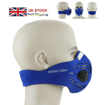 Training Face Mask Workout  Fitness MMA High Altitude Simulation Mask Blue