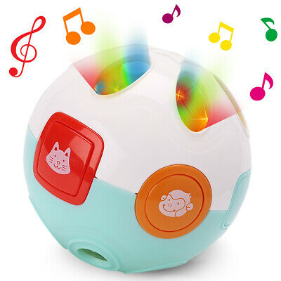 Move and Crawl Baby Ball Rolling Toys for 6 9 12 Months 1 Year Old Toddler