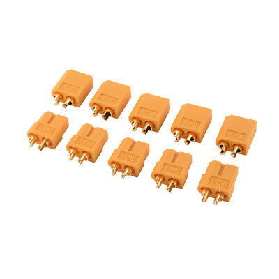 5-Pair XT60 Male Female Plug Bullet Connector for Lipo Battery Quadcopter RC712