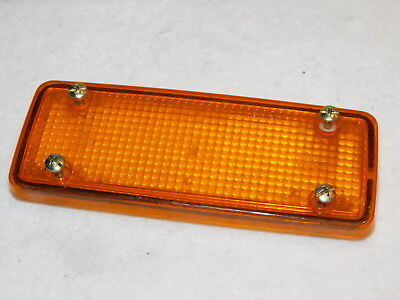 CABOCHON ORANGE VIGNAL france 0192700 1B 182x72mm CLIGNOTANT turn signal BLINKER