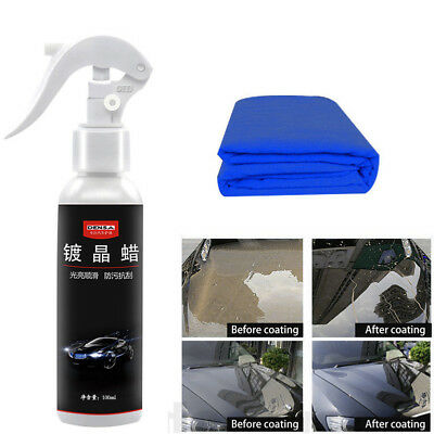 100ml Anti-scratch Car Liquid Ceramic Coat Super Hydrophobic Glass Spray Coating