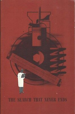Auto Brochure - General Motors - The Search That Never Ends - c1949 (A1293)