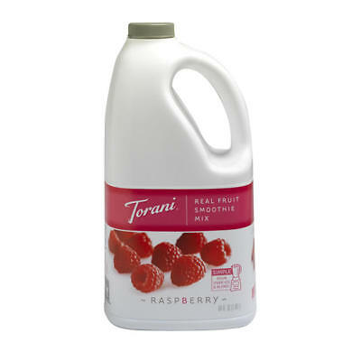 Torani Real Fruit Smoothie Raspberry Mix (Pack of 6)