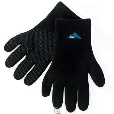 "Waterproof Gloves Hanz Black Small warm dry 8 1/2"" 3-Layer Membrane Construction"