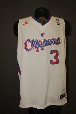 Authentic LOS ANGELES CLIPPERS Youth XL length +2 nba Chris Paul jersey  ADIDAS 5792ada99
