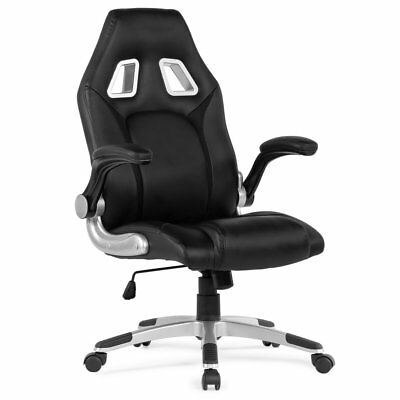 Belleze Racing High Back Office Chair PU Leather Computer Desk Gaming Swivel