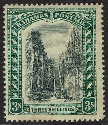 Bahamas 1911 Queen's Staircase 3/- Wmk Multi Crown Ca