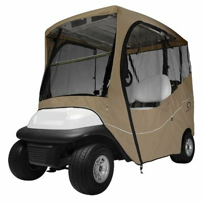 TRAVEL GOLF CAR ENCLOSURE SHORT ROOF, Khaki - Classic# 40-045-335801-00