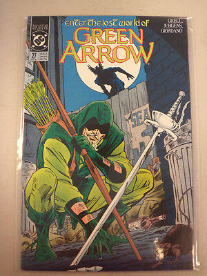 Enter The Lost World Of Green Arrow DC Comic Book 27 December 1989
