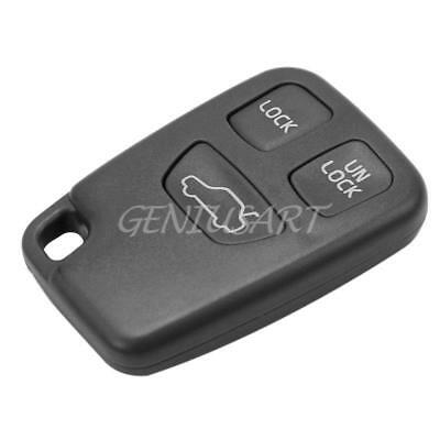 3 Buttons Flip Remote Key Fob Case Shell for Volvo S40 S70 C70 V40 V70 Cheap