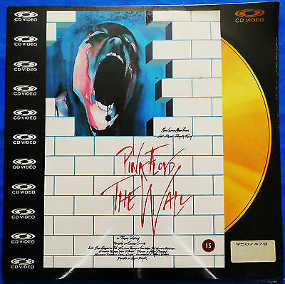 Pink Floyd - The Wall - U.K. Laser Disc issue PAL - NEW. 1982 - PAL Music Video