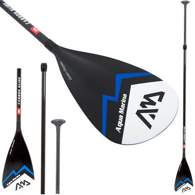 Aqua Marina CARBON GUIDE SUP Paddel Stand up Paddle 3-teilig 840 gr super leicht