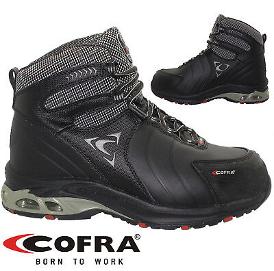 Mens Cofra Lightweight  Boots Steel Toe Cap Work Safety Shoes Hiker Leather