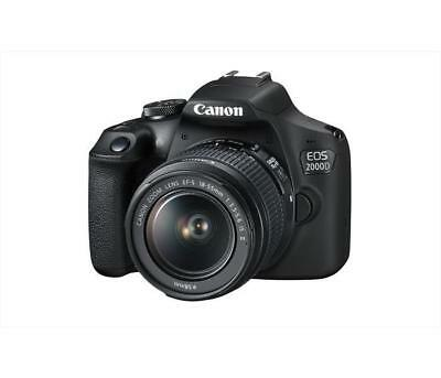 Fotocamere reflex CANON - EOS 2000D + EF-S 18-55 MM IS II Black