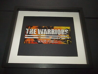 The Warriors-War is hell-original advert framed