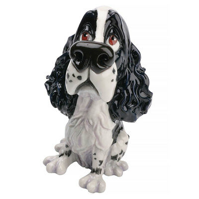 "Little Paws ""Sam"" Springer Spaniel Dog Figurine 5.25"" High New! Made in UK"