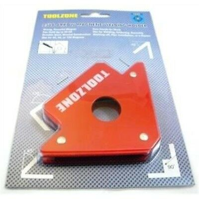 25lb Small Welding Magnet Right Angle Square Holder Soldering Durable Wh033 -