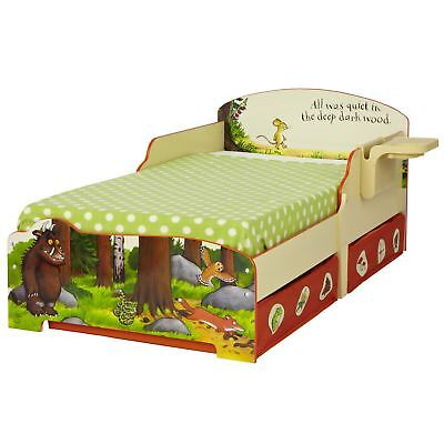 The Gruffalo Toddler Bed With Underbed Storage & Shelf + Mattress Options