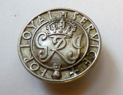 """British World War II """"King's Badge"""" for Wound Badge Label Excellent Condition"""