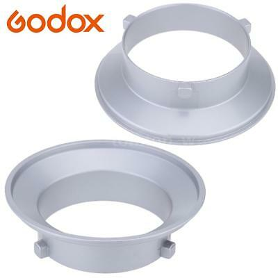 Godox SA-01-BW 144mm Mounting Flange Ring Adapter for Flash Fits for Bowens L3G7