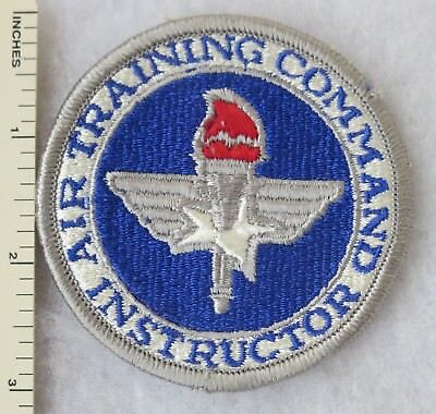 Collectibles Militaria (Date Unknown) AIR TRAINING COMMAND INSTRUCTOR US AIR FORCE PATCH Vintage USAF ORIGINAL