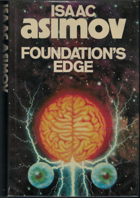 """Foundations Edge"" Isaac Asimov (1983 Hardcover) Granada Books"
