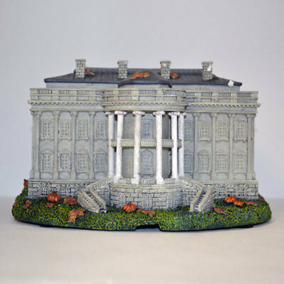 The White House America s Most Haunted Village Collection Bradford Exchange