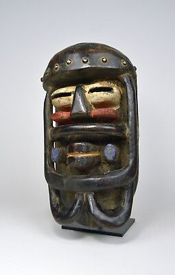 Fantastic Bete African Mask, Great Collector piece, African Art