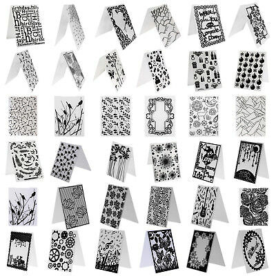 Flower DIY Embossing Folder Plastic Template Die Cutting Scrapbooking Album Card