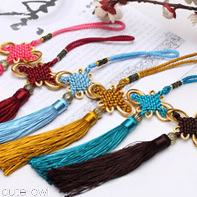 Wholesale 10PCS CHINESE HANDMADE KNIT CAR DECOR CHINESE KNOT FENG SHUI