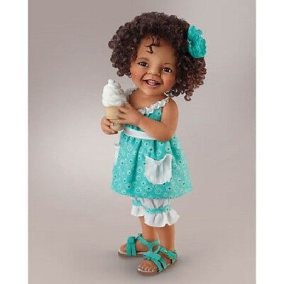 Giggles and Curls Girl Doll - What Little Girls Are Made Of Ashton Drake