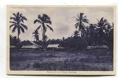 Singapore - Tanjong Katong Village - old postcard
